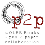 an Oleb Books + Pen 2 Paper collaboration